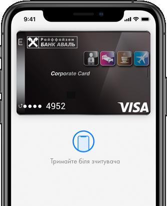 Apple Pay | Raiffeisen Bank Aval