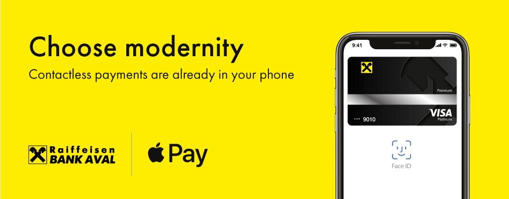 Raiffeisen Bank Aval Apple Pay
